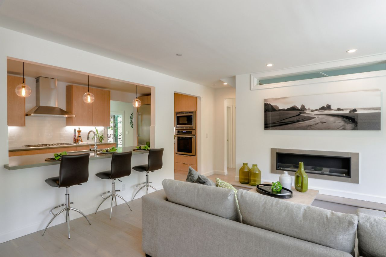 Remodeled with beautiful finishes