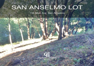 A lovely residential lot in San Anselmo